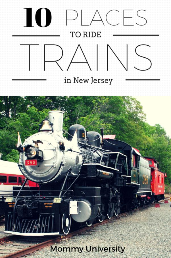 10 Places to Ride Trains in NJ