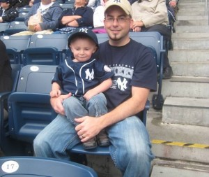 Yankee Game with Dad