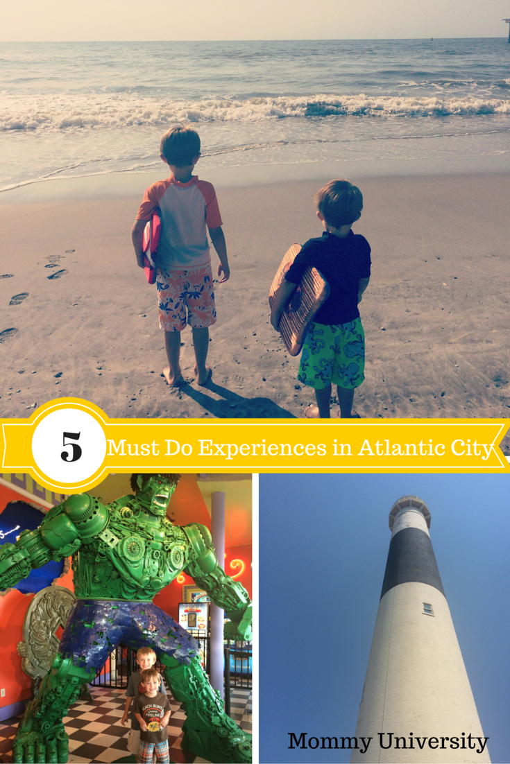 5 Must Do Experiences in Atlantic City