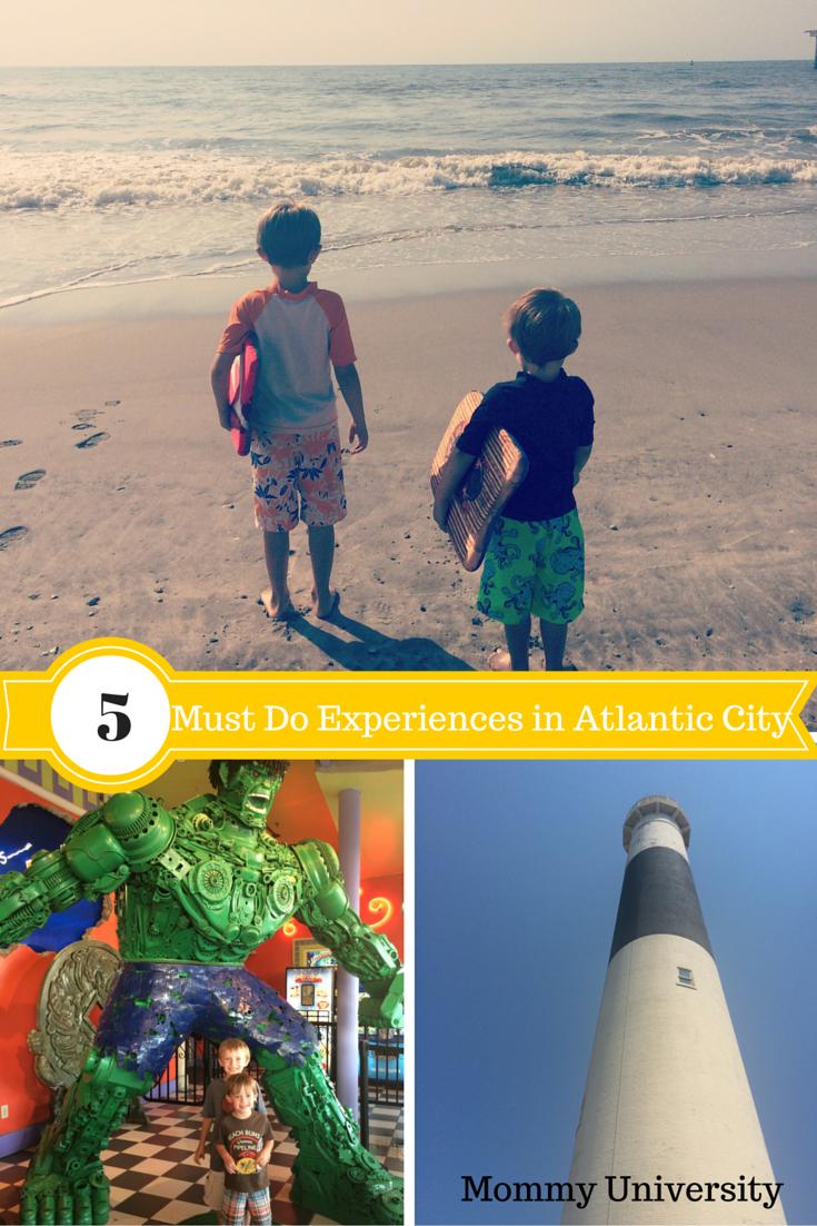 5 Must Do Experiences in Atlantic City