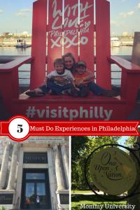 5 Must Do Experiences in Philadelphia