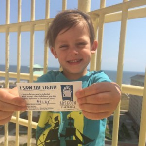 Absecon Lighthouse Success Card