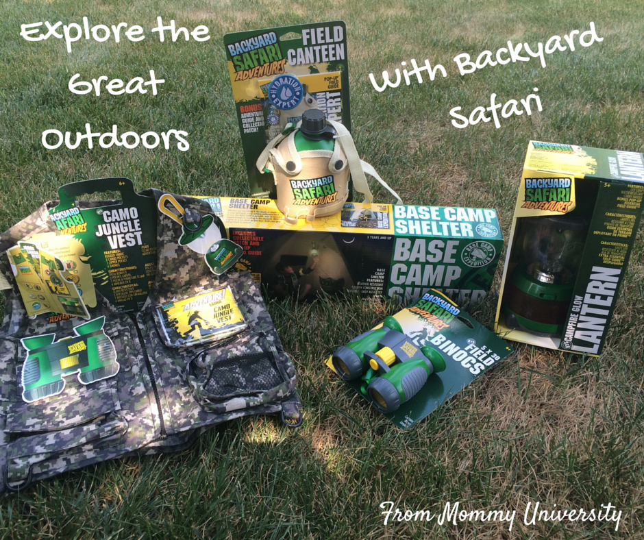 Explore The Great Outdoors With Backyard Safari Mommy