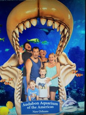 Family Bonding at Audubon Aquarium