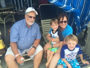 A trip to Hersheypark is a great way for kids to bond with parents and grandparents!