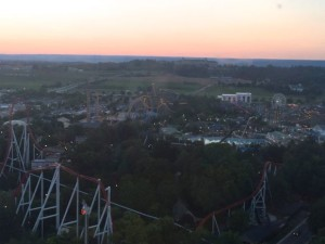 Hersheypark View from Kissing Tower