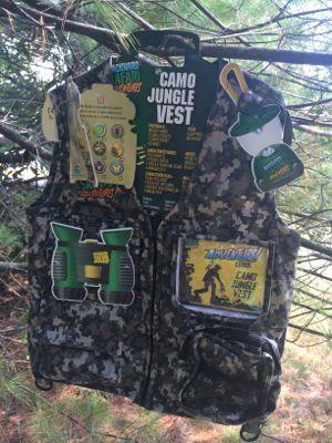 Backyard Safari Camo Jungle Vest