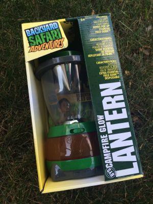 Backyard Safari Campfire Glow Lantern
