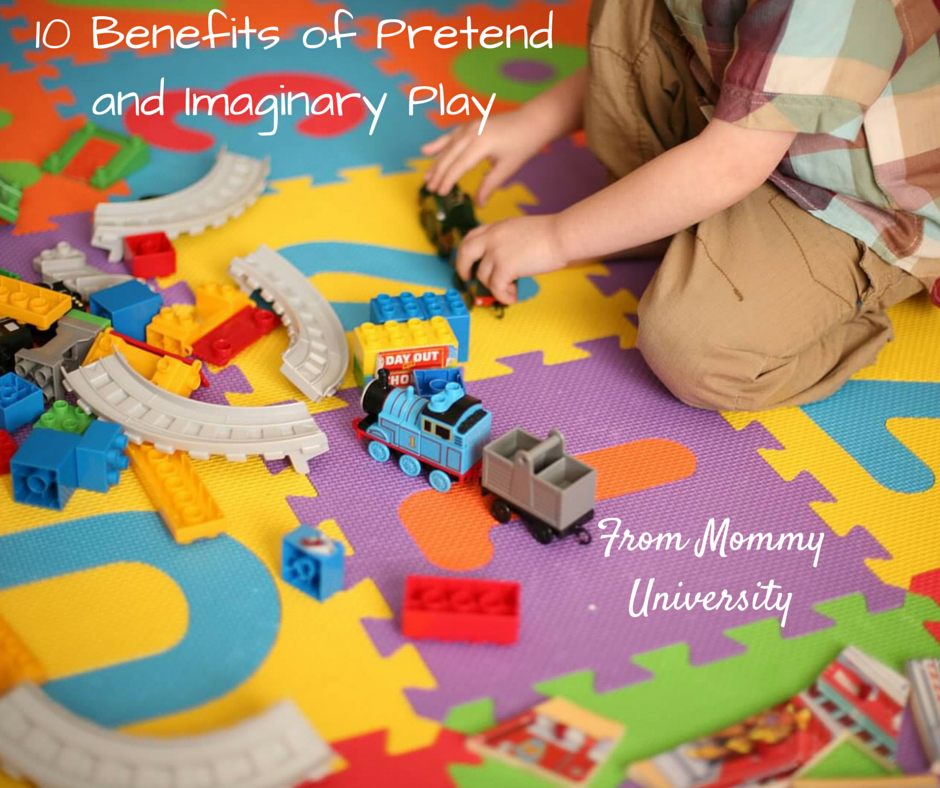 The Role Of Imaginative Play In Life Of >> 10 Benefits Of Pretend And Imaginary Play Mommy University
