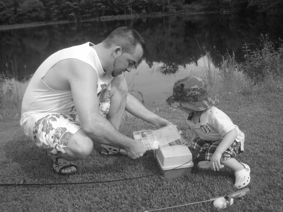 Fishing is wonderful way for parents to bond with their kids!