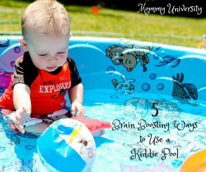 Brain Boosting Ways to Use a Kiddie Pool