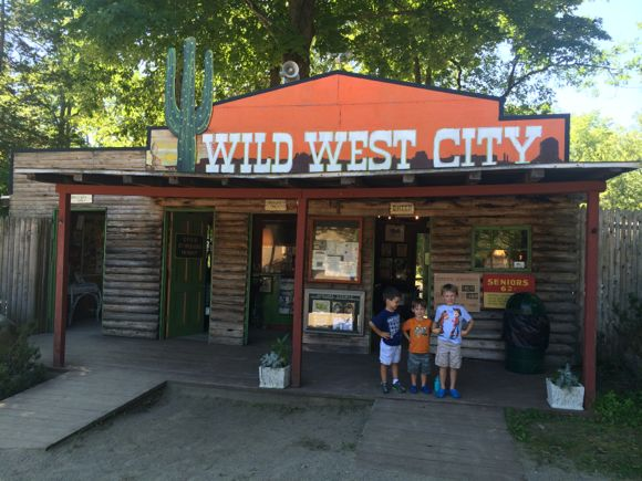 Front of Wild West City