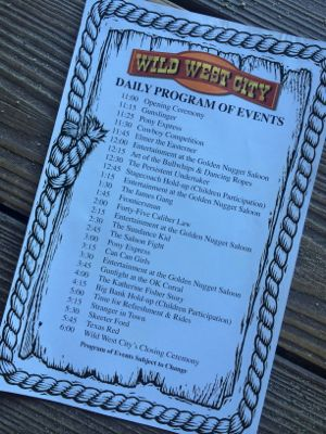 Wild West City Daily Program