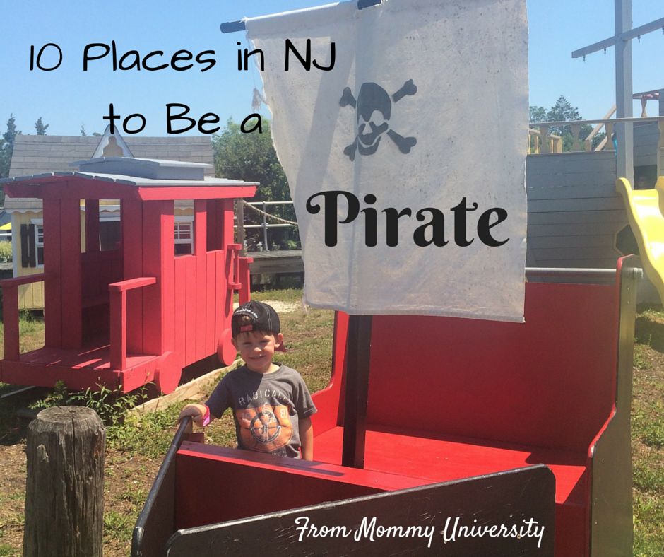 10 Places to Be a Pirate in NJ