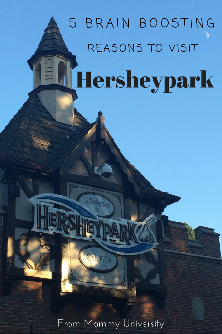 5 Brain Boosting Reasons to Visit Hersheypark