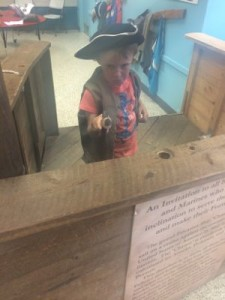 Being a Pirate at Tuckerton Seaport