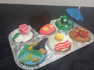 Here are all the cupcakes Tyler made!