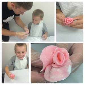 Chef It Up Fondant Roses
