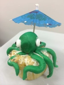 Chef It Up Octopus Cupcake