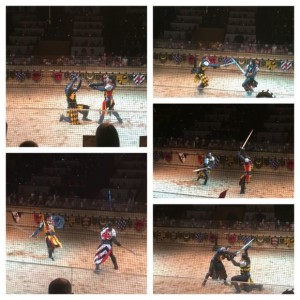 Medieval Times Battle