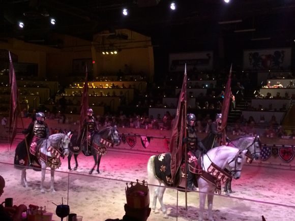 With so many amazing entertainers, Medieval Times makes for a wonderful introduction to the performing arts.