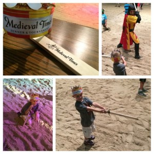 Medieval Times Junior Knight Training