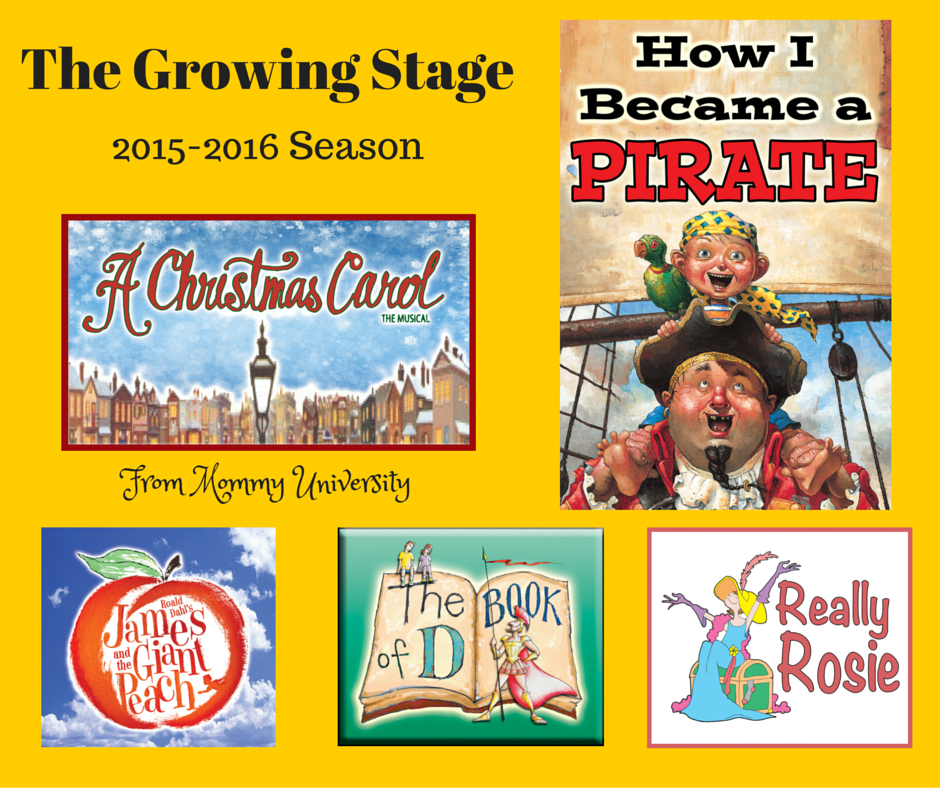 The Growing Stage Season 2015-2016