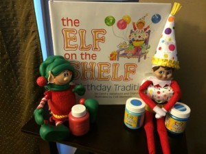 Elf on the Shelf Birthday Tradition