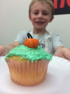 Halloween Cupcake at Chef It Up
