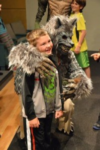 Get up close and personal with your favorite monsters at the LSC Halloween Camp In.