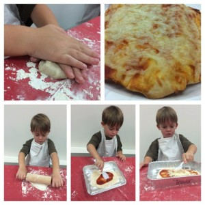 Making Pizza at Chef It Up