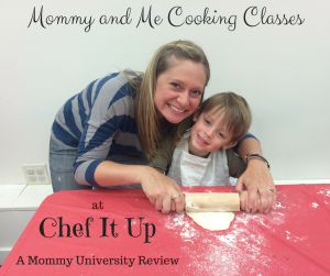 Mommy and Me Cooking Classes at Chef It Up