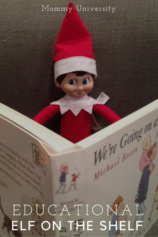 Educational Elf on the Shelf