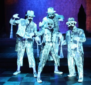 A Christmas Carol The Growing Stage Ghosts