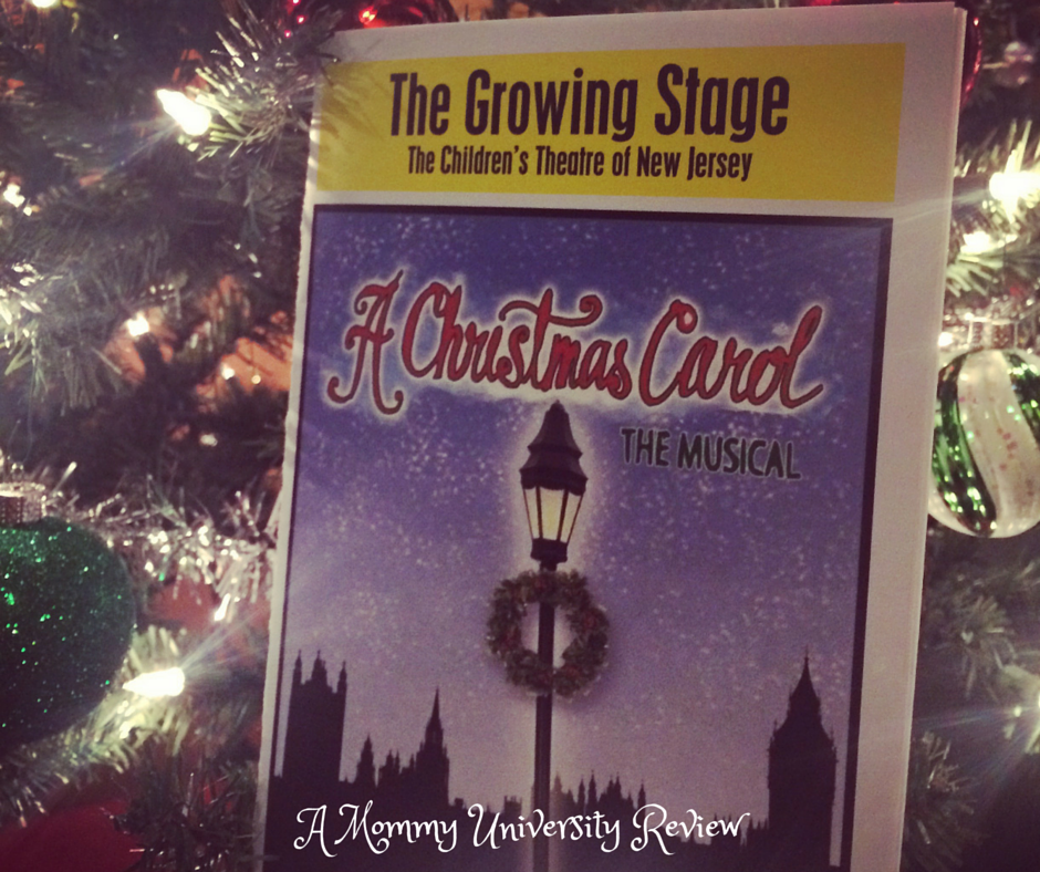 A Christmas Carol at The Growing Stage