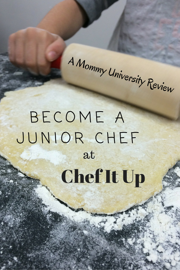 Become a Junior Chef at Chef It Up