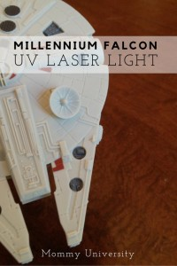 Millennium Falcon UV Light Laser