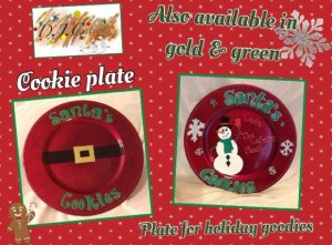 DJC Creations Cookie Plate Collage