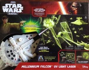 Millennium Falcon UV Light Laser