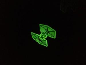 Glow in the Dark Tie Fighters