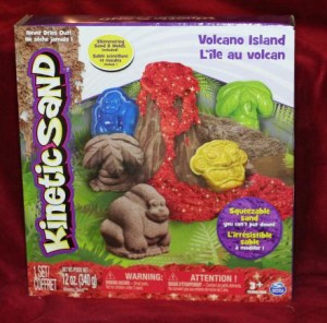 Spin Master Kinetic Sand Volcano Island