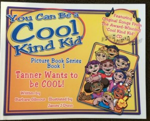 Tanner Wants to Be Cool Book
