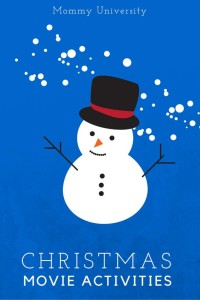 Christmas Movie Activities