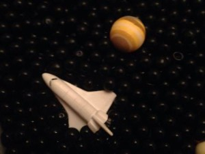 Solar System Sensory Bin