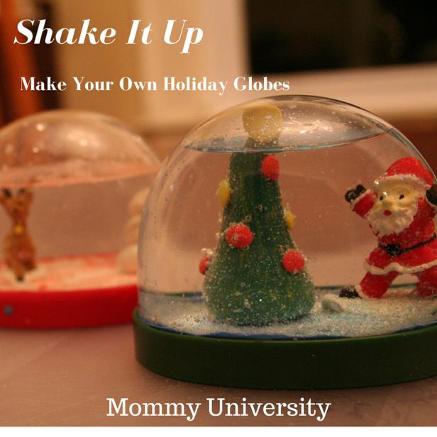 Make Your Own Holiday Globes