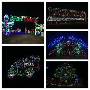 Hershey Sweet Lights Collage