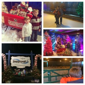 We had so much fun meeting Santa, enjoying storytime, ice skating and seeing Santa's reindeer at Hersheypark!