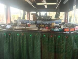 Hersheypark Holiday Train Display