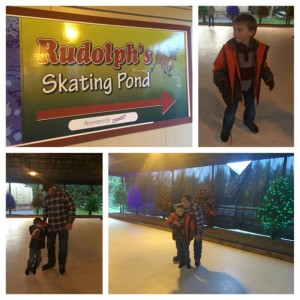 Hersheypark Rudolph's Skating Pond
