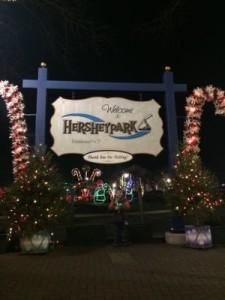 Hersheypark Sign